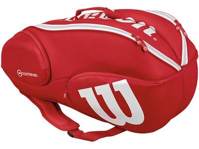 "WILSON Tennis-Rucksack ""Pro Staff 9 Pack"" Rot"