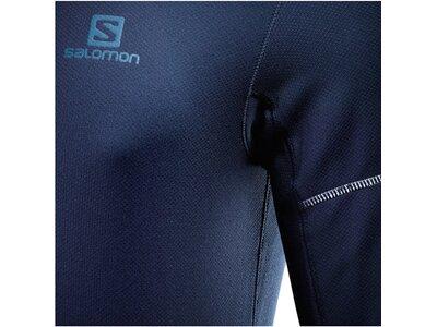 "SALOMON Herren Laufshirt ""Agile"" Langarm Blau"