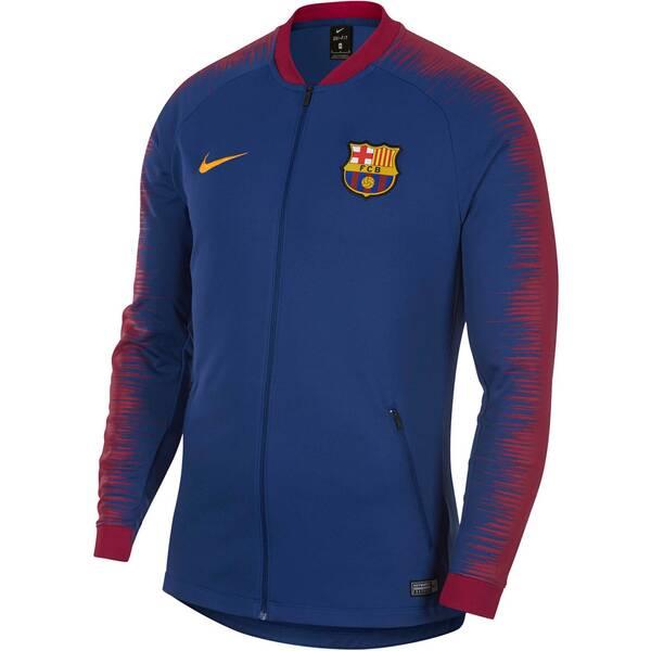 NIKE Herren Fußballjacke FC Barcelona Anthem