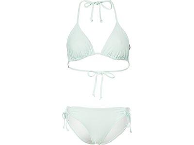CHIEMSEE Triangle Bikini-Set einfarbig zum Schnüren Blau