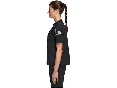 ADIDAS Damen Trainingsshirt Z.N.E. Schwarz