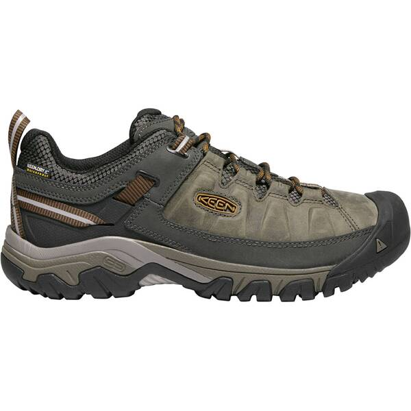 "KEEN Herren Wanderschuhe ""Targhee III WP"" Black Olive/Golden Brown"