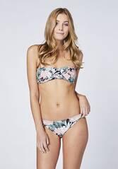 CHIEMSEE Bandeau Bikini-Set gemustert mit abnehmbaren Trägern