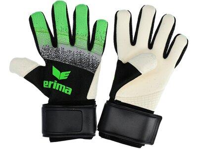 ERIMA Equipment - Torwarthandschuhe Flexinator Knit TW-Handschuh Schwarz