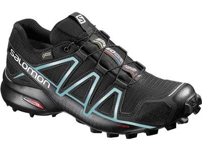 SALOMON Damen Laufschuhe / Trail Running Schuhe Speedcross 4 GTX schwarz Grau