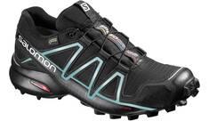 Vorschau: SALOMON Damen Laufschuhe / Trail Running Schuhe Speedcross 4 GTX schwarz