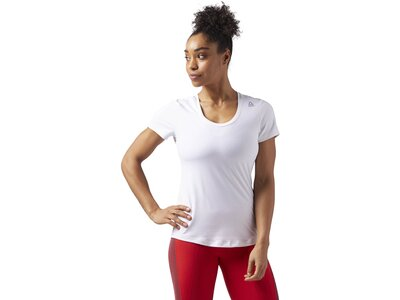 REEBOK Damen Workout Ready Speedwick T-Shirt Weiß