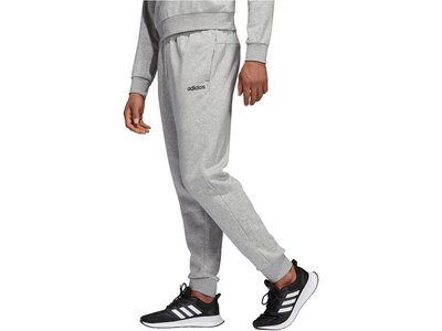 "ADIDAS Herren Sweathose ""Essentials Plain Tapered Pant Fleece Cuffed"" Grau"
