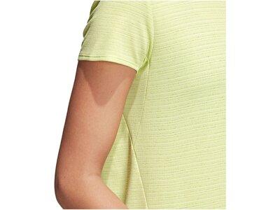 ADIDAS Damen Trainingsshirt Freelift Chill Braun