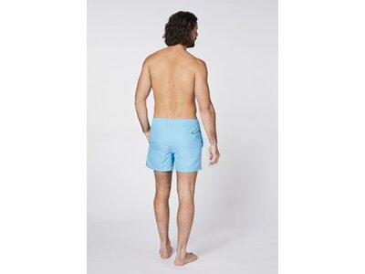 CHIEMSEE Badeshorts mit CHIEMSEE Jumper Print Blau