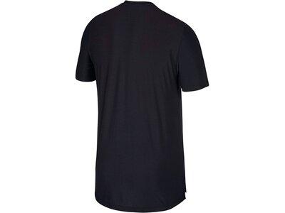 "NIKE Herren Fitnessshirt ""Tech Pack Dri-Fit Breathe"" Kurzarm Grau"