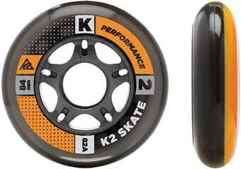 K2 Inliner Rollen Set 84 mm / 80 mm Wheel HI-LO 8 Pack