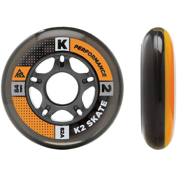 K2 Inliner Rollen Set 84 mm / 80 mm Wheel HI-LO 8 Pack