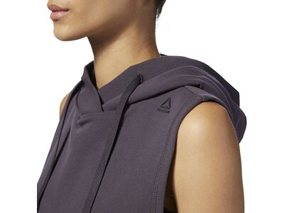 REEBOK Damen Sweatshirt Combat Legacy Sleeveless Grau