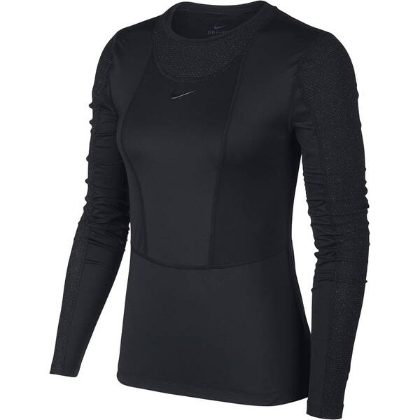 NIKE Damen Fitness-Shirt Langarm