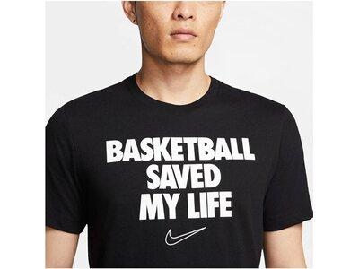 "NIKE Herren Basketball-Shirt ""My Life"" Schwarz"
