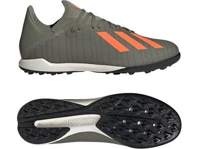 ADIDAS Fußball - Schuhe - Turf X Mutator 19.3 TF Grau