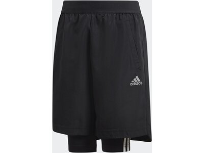 ADIDAS Kinder Football Two-in-One Shorts Schwarz