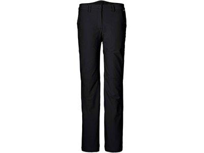 JACKWOLFSKIN Damen Softshellhose Activate Winter Pants W Schwarz