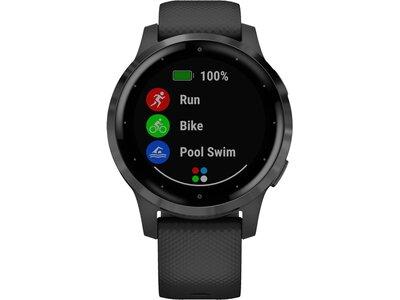 "GARMIN GPS-Multifunktionsuhr ""Vivoactive 4 S"" Schwarz"