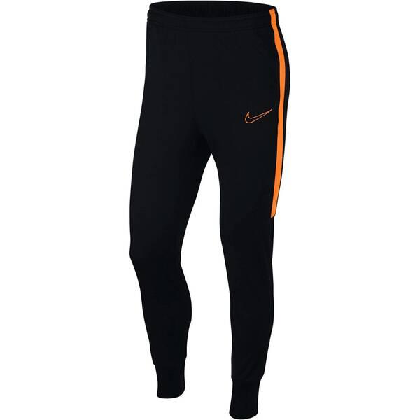 NIKE Herren Fußball Trainingshose Dri-Fit Academy | Sportbekleidung > Sporthosen > Fußballhosen | Black - Orange | Nike
