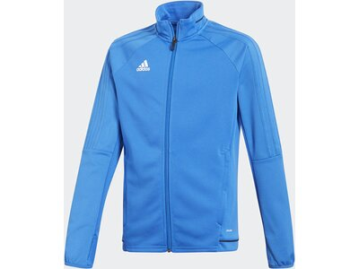 ADIDAS Kinder Tiro 17 Trainingsjacke Blau