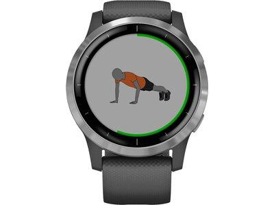 "GARMIN GPS-Multifunktionsuhr ""Vivoactive 4"" Grau"
