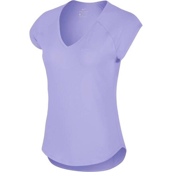 NIKE Damen Tennisshirt Pure Kurzarm | Sportbekleidung > Sportshirts > Tennisshirts | Nike