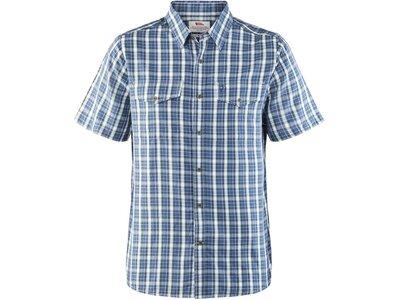 "FJÄLLRÄVEN Herren Wanderhemd ""Abisko Cool Shirt S/S"" Blau"