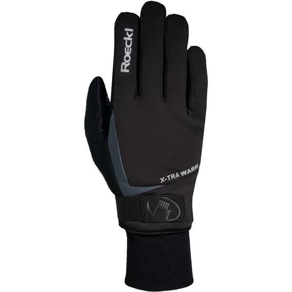 ROECKL Herren Radhandschuhe Verbier | Accessoires > Handschuhe | Schwarz | ROECKL