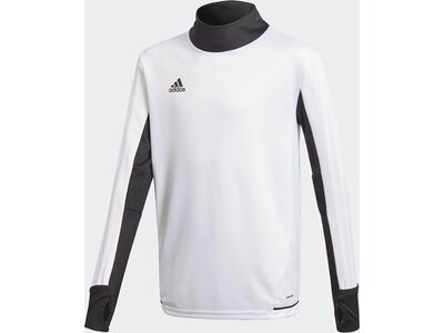 ADIDAS Kinder Tiro17 Trainingsshirt Grau