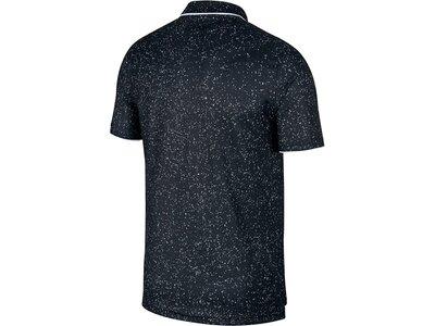 """NIKE Herren Tennis-Poloshirt """"NikeCourt Dri-FIT"""" Kurzarm Schwarz"""