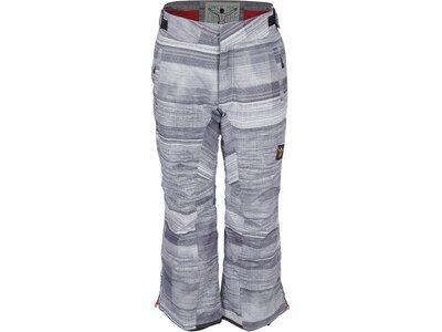 CHIEMSEE Skihose mit auffälligem Alloverprint Grau