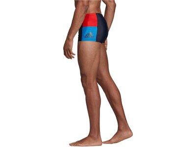 """ADIDAS Herren Badeshorts """"Fitness colorblock swim boxer"""" Braun"""