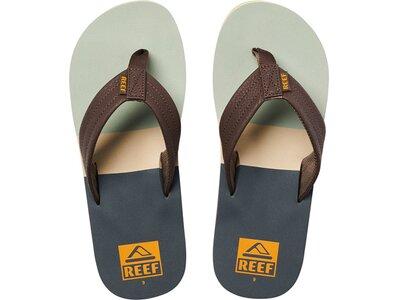 """REEF Herren Sandale """"Reef Tri Waters"""" Grau"""