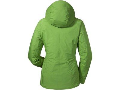 SCHÖFFEL Damen Wanderjacke ZipIn! Jacket Skopje1 Grün