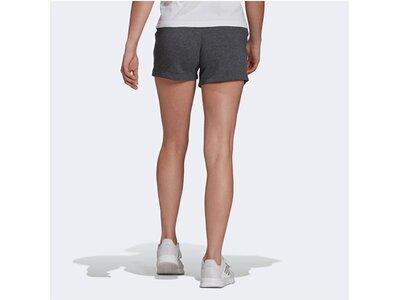 """ADIDAS Damen Sweatshorts """"Essentials Slim Logo Shorts"""" Grau"""