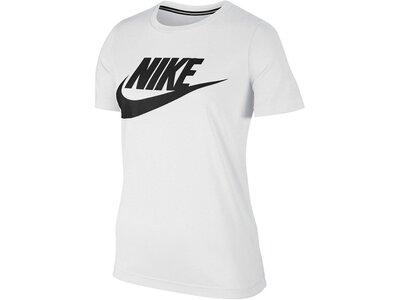 NIKE Damen Shirt Kurzarm Grau