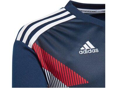 "ADIDAS Kinder Fußballtrikot ""Fc Bayern Pre-Match Jersey Youth"" Blau"