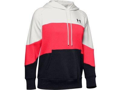 "UNDERARMOUR Damen Sweatshirt ""Rival Fleece Color Block Hoodie"" Weiß"