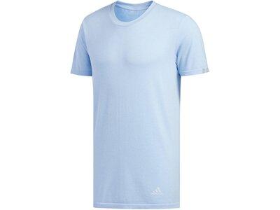 "ADIDAS Herren Laufshirt ""adidas 25/7"" Kurzarm Blau"
