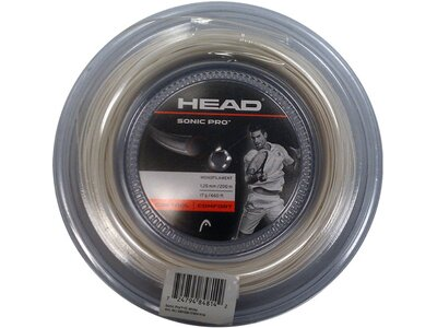 "HEAD Tennissaiten ""Sonic Pro"" - 1.25 mm Grau"