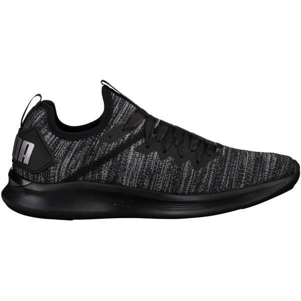 PUMA Damen Fitnessschuhe Ignite Flash evoKnit Satin En Pointe | Schuhe > Sportschuhe > Fitnessschuhe | Black - Metallic | PUMA
