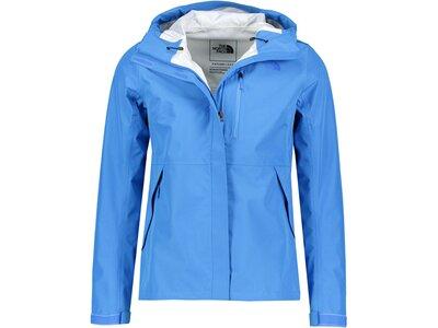 """THENORTHFACE Damen Jacke """"Dryzzle"""" Blau"""