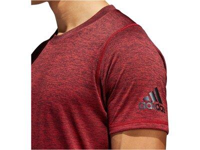 "ADIDAS Herren Trainingsshirt ""FreeLift 360 Gradient Graphic"" Kurzarm Braun"