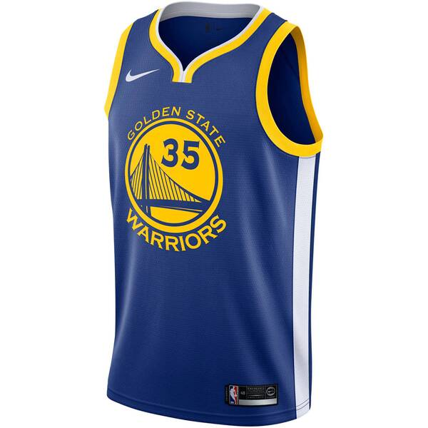 NIKE Herren Basketball Trikot Stephen Curry Icon Edition Swingman Jersey (Golden State Warriors)