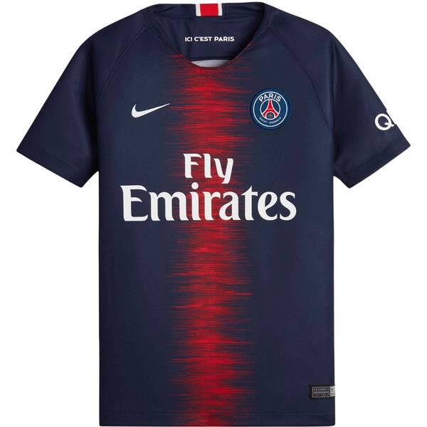 NIKE Kinder Fußballtrikot Breathe Paris Saint-Germain Home Stadium Kurzarm