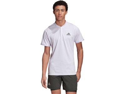 "ADIDAS Herren Tennisshirt ""Freelift Polo H.RDY"" Kurzarm Grau"