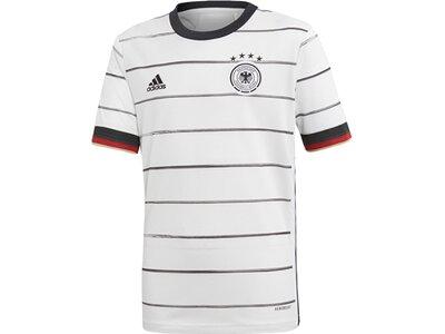 "ADIDAS Kinder Fußballtrikot ""Deutschland Heim"" Replica Grau"