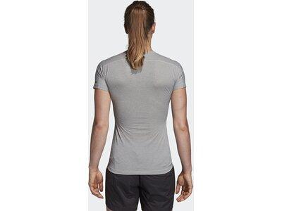 ADIDAS Damen T-Shirt Agravic Grau